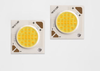 Intelligent 2700-5000k 12w Dimming Cob Led Ceramic Base Material 37.2V